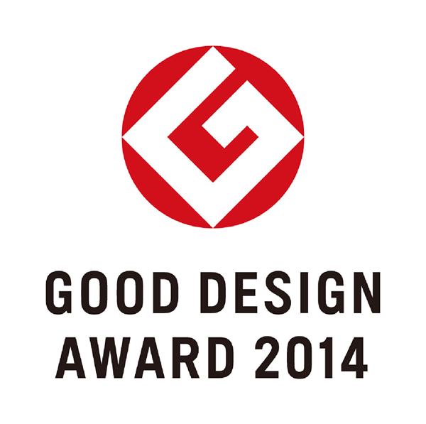 "Winner of the ""2014 Good Design Prize"""
